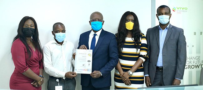 Vivo Energy Ghana is ISO 9001:2015 Certified!