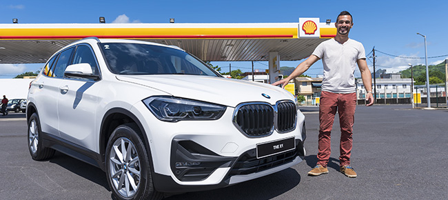 Fuel Your Summer : Vivo Energy Mauritius  remet sa BMW X1 au grand gagnant