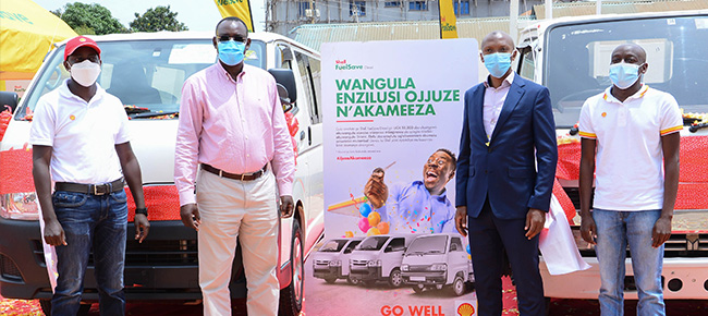 Shell FuelSave Diesel 'Jjuza Akameeza' campaign to reward over 25,000 drivers with prizes worth UGX 600 million