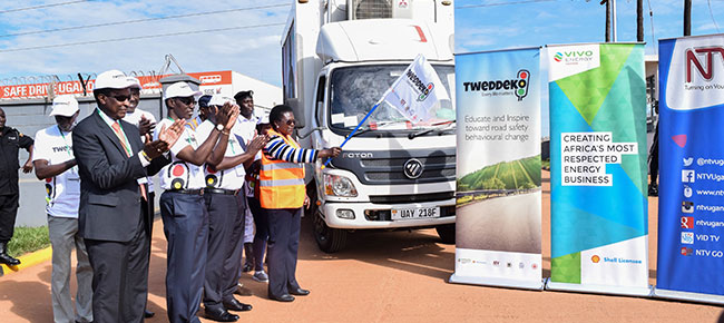 Vivo Energy takes Tweddeko to Jinja highway