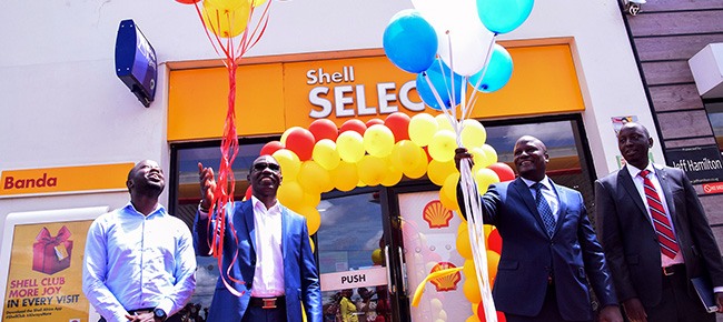 Vivo Energy Uganda Partners with DFCU Bank to Offer Agency Banking Services at Selected Shell Stations.
