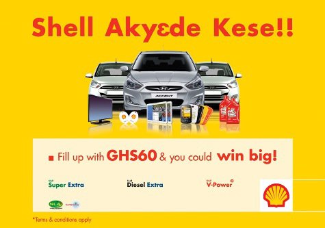 Shell Akyede Kese final draw winners