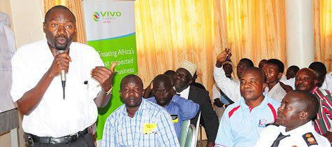 Vivo Energy trains bus drivers on road safety ahead of the festive season