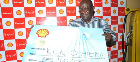 Vivo Energy Kenya launches Shell V-Power customer reward campaign