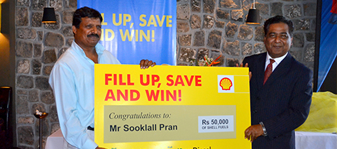 Shell Fill Up, Save and Win