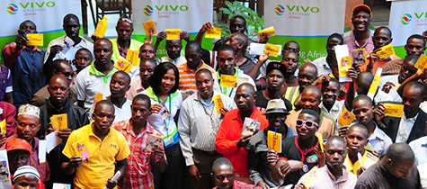 Vivo Energy trains Boda Boda cyclists on road safety