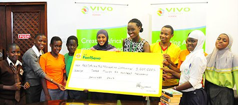 Vivo Energy donates 1000 litres towards improving literacy in schools