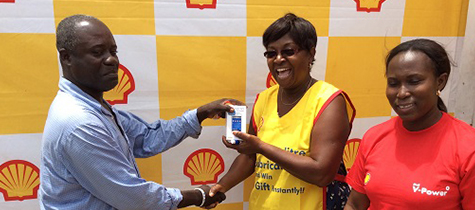 Vivo Energy Ghana Rewards Shell Customers