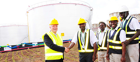Vivo Energy Commissions Ten Million Litre Capacity Tanks