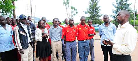 Vivo Energy Uganda Test Staff Preparedness In Case Of Fire