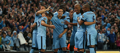 Fly to the home of Manchester City Football Club