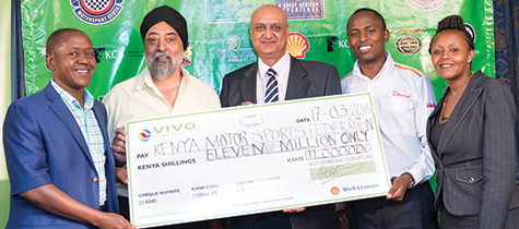 Vivo Energy Kenya is the official fuel sponsor of the Kenya National Rally Championship