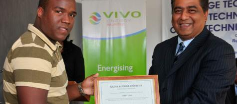 Vivo Energy Mauritius supports Saint Gabriel Technical School
