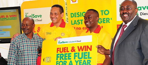 Shell FuelSave customers won free fuel for up to one year