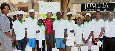 Vivo Energy Kenya sponsors education for bright students