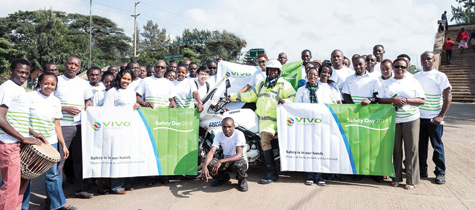 Vivo Energy Kenya holds annual Safety Day