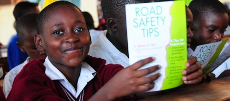 Vivo Energy trains School Children on Road Safety