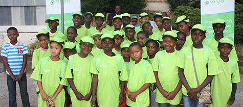 Vivo Energy sponsors youth trip to the Cheetah Conservation Fund (CCF)