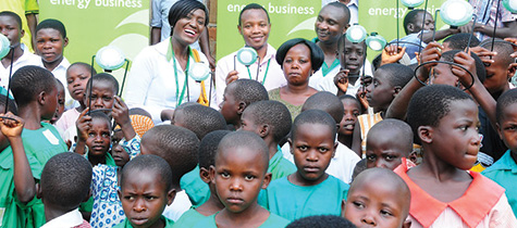 Vivo Energy donates solar lamps to Bulamba Primary School