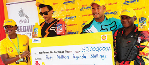 Vivo Energy boosts National Motocross Championships with 50 million Shillings