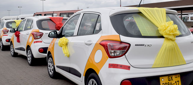 Six Taxis for Grabs as Shell Rewards Customers