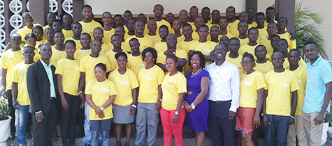Vivo Energy Ghana trains lube bay and oil specialists