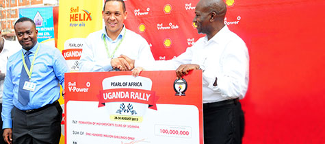 Vivo Energy announces One Hundred Million Shillings sponsorship for Pearl of Africa Rally 2015