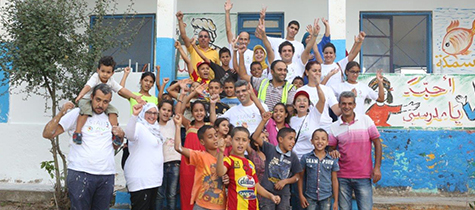 Vivo Energy Tunisie et son personnel participent activement au « Mois de l'école »