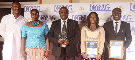 Vivo Energy Ghana, Shell Licensee Wins CIMG Petroleum Company of the Year 2014