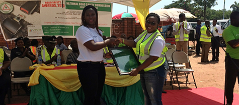 Vivo Energy Ghana Recognised for Proactive Road Safety Programmes