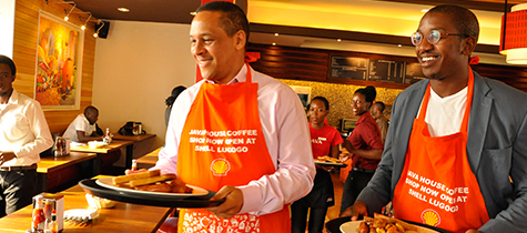 Java coffee house Opens at Shell Lugogo