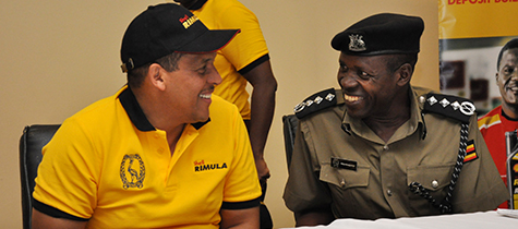 Road Safety Training for Uganda Police