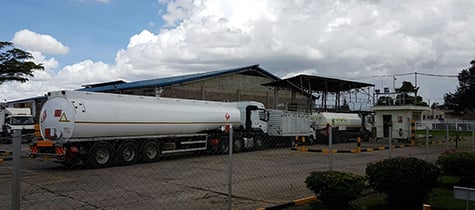 Fuel Spill in Nairobi Industrial Area