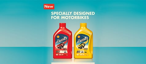Motorcyclists to enjoy optimum performance with new Shell engine oil