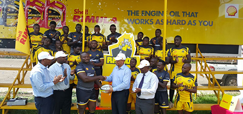 Vivo Energy Unveils UGX. 74.4 Million Sponsorship Deal to Rhinos Rugby Club