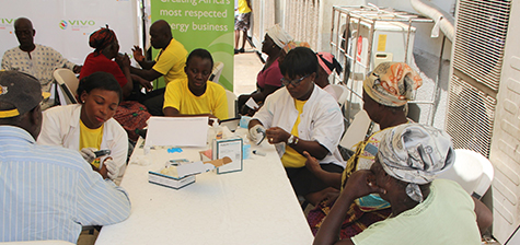 Vivo Energy embarks on health screening and clean-up exercise for host community