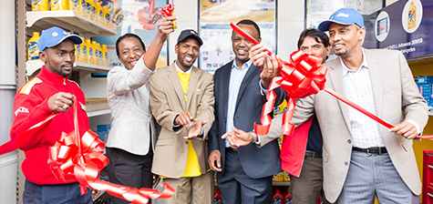 A boost for motorcyclists in Kenya with the launch of new motorbike service centres at Shell service stations