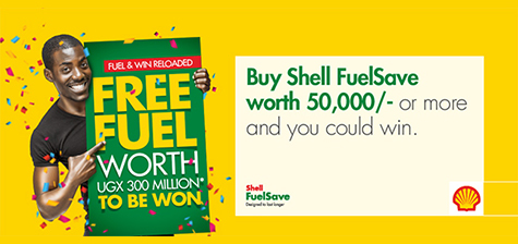 UShs. 300 Million worth of fuel for Shell FuelSave customers