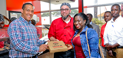 Shell Entebbe unveils new Pizza Hut Restaurant