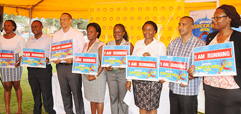 Rotary Cancer Run gets UShs. 8 million boost from Vivo Energy Uganda
