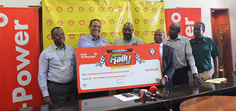 Vivo Energy Boosts Shell V-Power Pearl of Africa Uganda Rally with 100 million shillings sponsorship