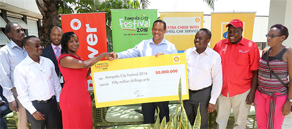 Kampala City Festival gets UShs. 50 million boost from Vivo Energy Uganda