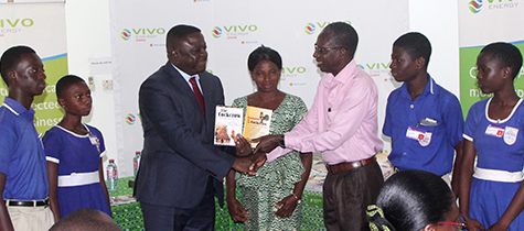 Vivo Energy donates library books to enhance kids' futures