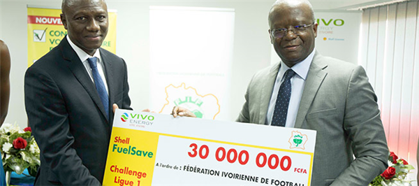 Shell FuelSave donne une seconde énergie à la Ligue 1 Ivoirienne