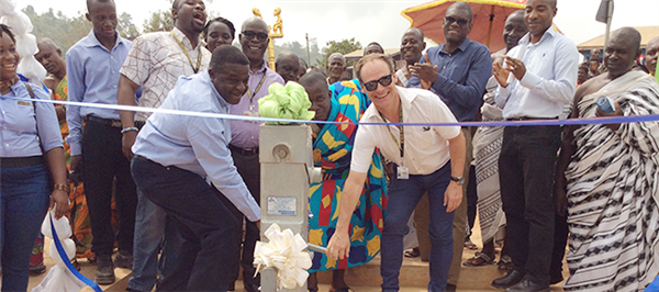 Sefwi Ntrentrenso community to benefit from clean water supply