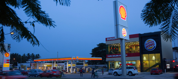 Shell Saint Jean accueille le plus grand restaurant Burger King de Côte d'Ivoire