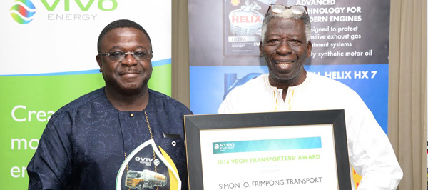 Vivo Energy Ghana rewards transporters and their spouses