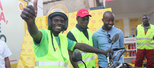 """""""Gwe Kapo"""" launched to make motorbike riders' lives easier"""