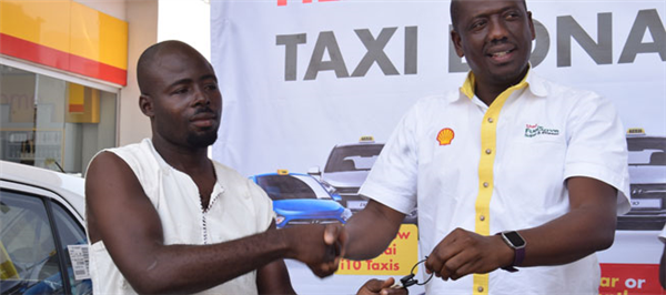 Taxi Driver Grabs First Taxi in the Shell Filling No Y3 Deep Promotion