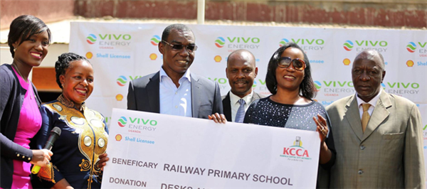 Vivo Energy supports Railway Primary School with furniture and zebra crossing
